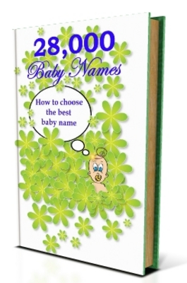 Product picture 28,000 Baby Names A to Z For Boys & Girls 600pg