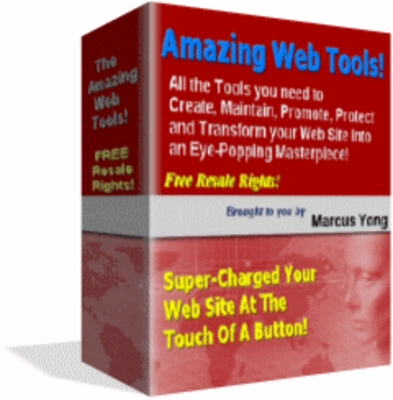 Product picture Amazing Web Tools 12pc Software Suite W/ Resale Rights