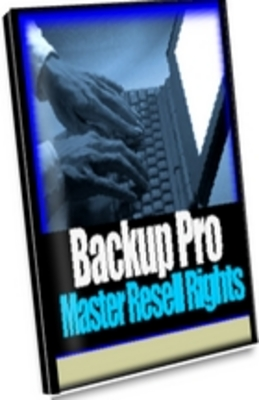 Product picture Backup Pro -- Computer Backup Software W/ Resale Rights